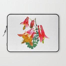 Wild Columbine, Aquilegia canadensis Laptop Sleeve