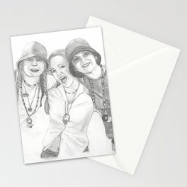 Electric Daisy Ravers from 1999 Stationery Cards