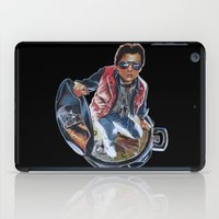 marty mcfly iPad Cases featuring MARTY MCFLY by John McGlynn