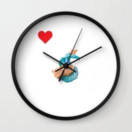 Novelty Anesthetic Medical Illustration Gag Tee Shirt Gift | Funny Physicians Graphic Saying Men Wall Clock