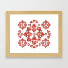 Hearts Alive Framed Art Print