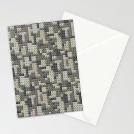 Legobricks camouflage Stationery Cards