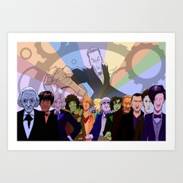 All The Doctors Art Print