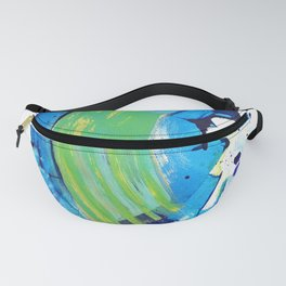 Summer ends, waves remain Fanny Pack