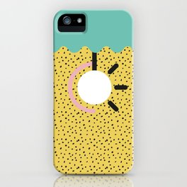 Memphis Style N°3 iPhone Case