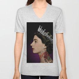 Queen Noir Unisex V-Neck