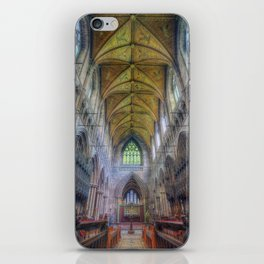 Shining Faith iPhone Skin