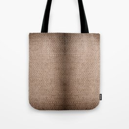 Beige burlap cloth texture abstract Tote Bag
