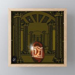 Necropolis Coin Copper at Twilight 5 Framed Mini Art Print