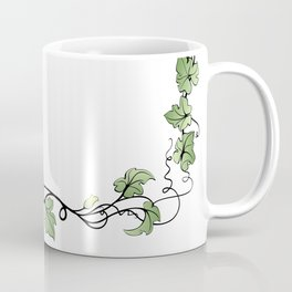 Frame with pumpkins and leaves Coffee Mug