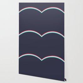 Italo Retro Rainbow Wallpaper