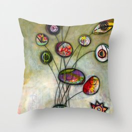 You and Eye Throw Pillow