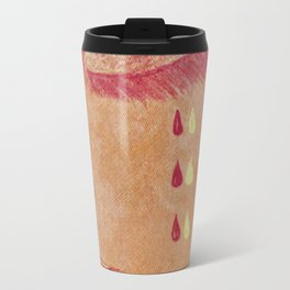 Olga Denim Patch Travel Mug