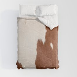Cowhide Farmhouse Decor Comforters
