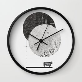 Calculating a Jump over the Moon Wall Clock