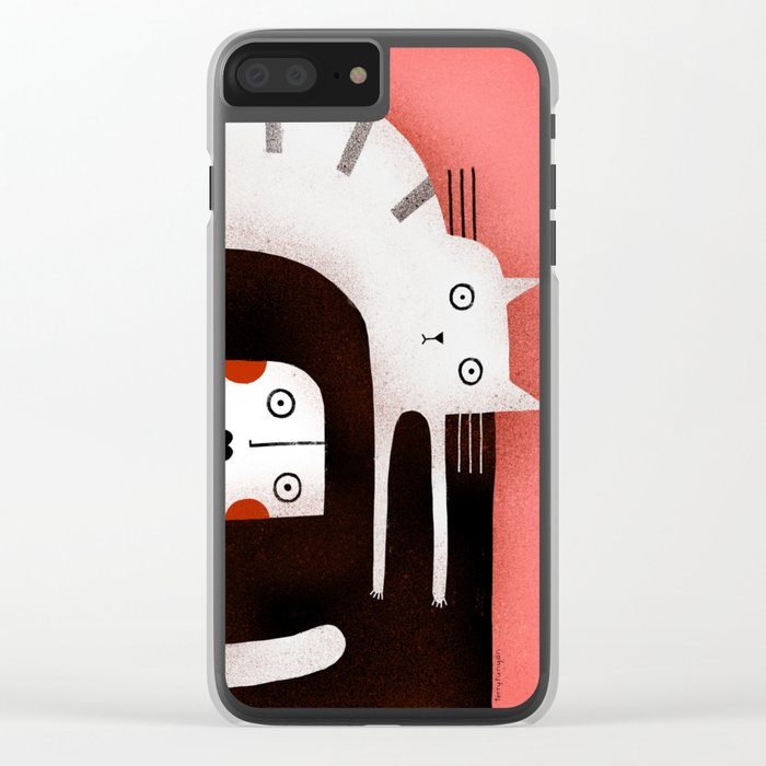 STARTLED Clear iPhone Case