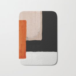 abstract minimal 14 Bath Mat