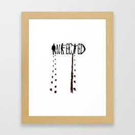 Infected Zombie Framed Art Print