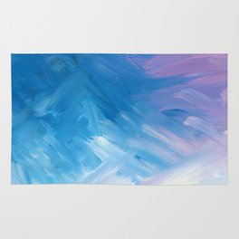 Fond Memories Abstract Painting Rug