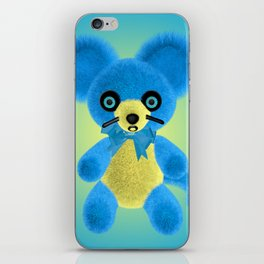 Blue Mouse iPhone Skin