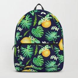 Citrus Tropics - Midnight Backpack