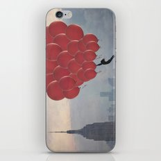 Floating over the City iPhone & iPod Skin