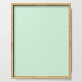 Pastel Green Serving Tray