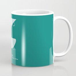be zen like a warm cup of coffee Coffee Mug