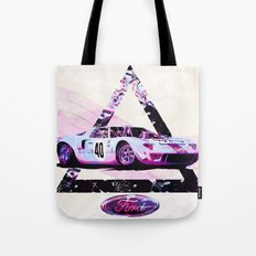 Ford Gt40// Le Mans Race Cars Tote Bag