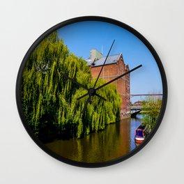 Historic Flour Mill.  Wall Clock