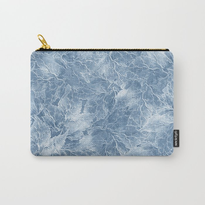 Frozen Leaves 7 Carry-All Pouch