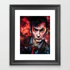 Tenth Doctor Framed Art Print