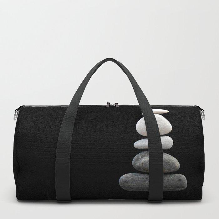 balance pebble art Duffle Bag