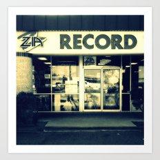 Zia Record Exchange Art Print