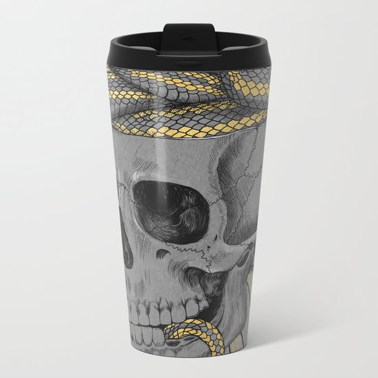 stay gold Metal Travel Mug