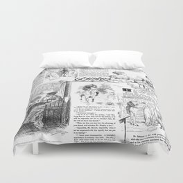 Pride and Prejudice - Pages Duvet Cover