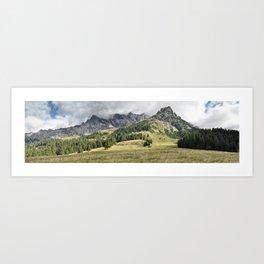 Austrian Hills Art Print