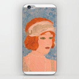 """Melissa"" iPhone Skin"