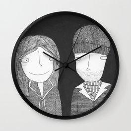 Joel & Clementine Wall Clock