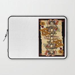 'Cheshire' (Alice in Wonderland Steampunk Series) Laptop Sleeve