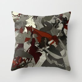 Hexennacht Throw Pillow