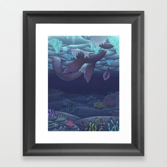 Nessy Framed Art Print