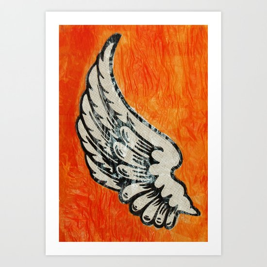 No Angel Art Print