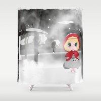 fog Shower Curtains featuring Fog by Raimondo Tafuri