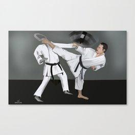 Karate Corky Canvas Print
