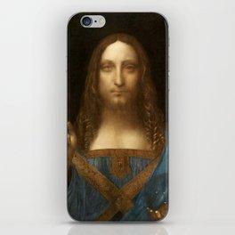 Salvator Mundi by Leonardo da Vinci iPhone Skin