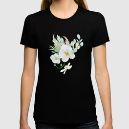 White Orchid Series: Orchid in Watercolor T-shirt