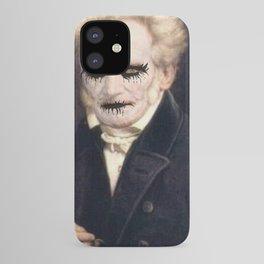 Black Metal Schopenhauer iPhone Case
