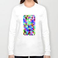 computer Long Sleeve T-shirts featuring Hello Computer by NatalieCatLee