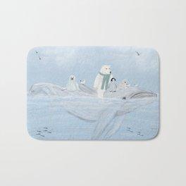 an arctic journey Bath Mat